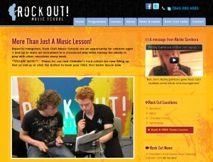 Rock Out! Music Schools